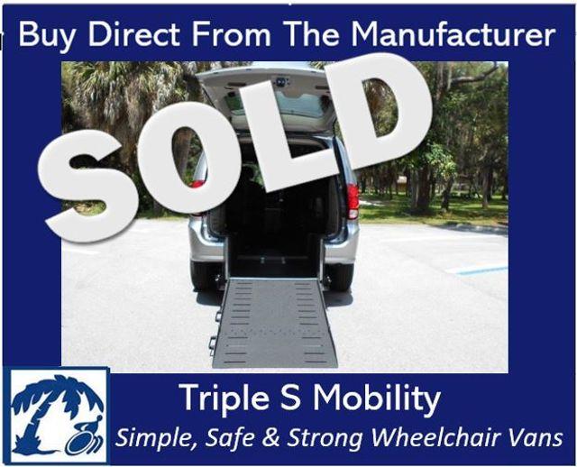2018 Dodge Grand Caravan Sxt Wheelchair Van Handicap Ramp Van