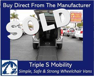 2018 Dodge Grand Caravan Sxt Wheelchair Van Handicap Ramp Van Pinellas Park, Florida