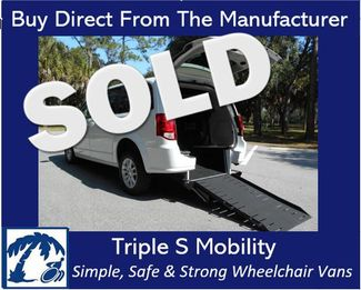 2018 Dodge Grand Caravan Sxt Wheelchair Van Pinellas Park, Florida