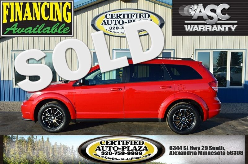 2018 Dodge Journey SE in Alexandria Minnesota