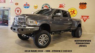 2018 Dodge RAM 3500 Laramie DRW 4X4 LIFTED,BUMPERS,FUEL WHLS,38K in Carrollton, TX 75006