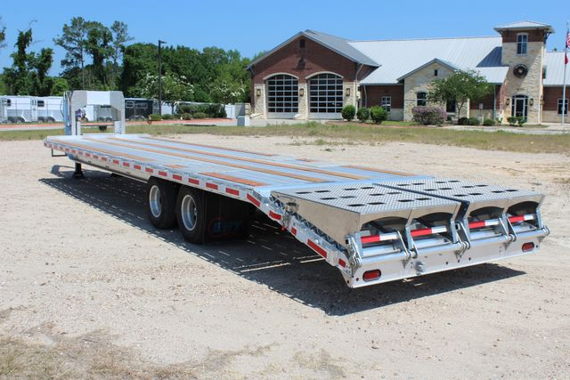 2018 Eby 35' GN EQUIPMENT Flatbed Equipment Trailer 25K GVWR 12Ks 6,800 lbs. CONROE, TX 10