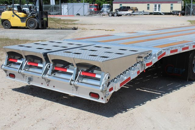 2018 Eby 35' GN EQUIPMENT Flatbed Equipment Trailer 25K GVWR 12Ks 6,800 lbs. CONROE, TX 16