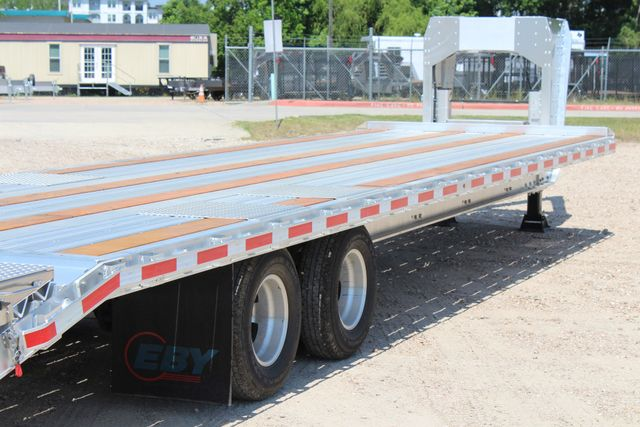 2018 Eby 35' GN EQUIPMENT Flatbed Equipment Trailer 25K GVWR 12Ks 6,800 lbs. CONROE, TX 18