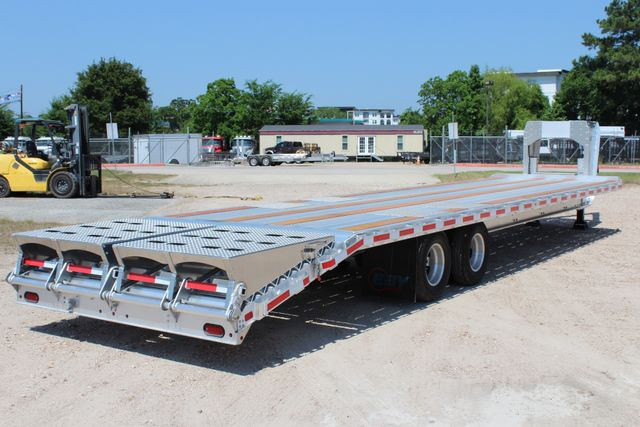2018 Eby 35' GN EQUIPMENT Flatbed Equipment Trailer 25K GVWR 12Ks 6,800 lbs. CONROE, TX 19
