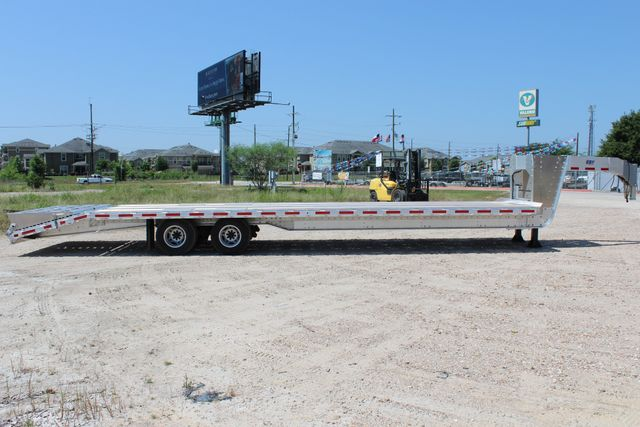 2018 Eby 35' GN EQUIPMENT Flatbed Equipment Trailer 25K GVWR 12Ks 6,800 lbs. CONROE, TX 20