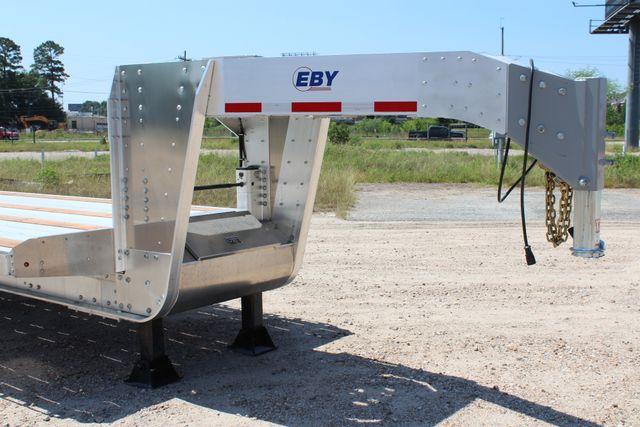 2018 Eby 35' GN EQUIPMENT Flatbed Equipment Trailer 25K GVWR 12Ks 6,800 lbs. CONROE, TX 2