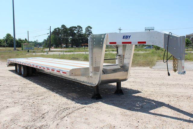 2018 Eby 35' GN EQUIPMENT Flatbed Equipment Trailer 25K GVWR 12Ks 6,800 lbs. CONROE, TX 21