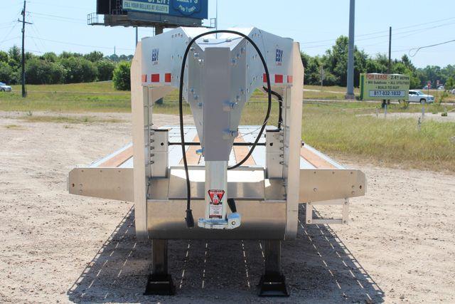 2018 Eby 35' GN EQUIPMENT Flatbed Equipment Trailer 25K GVWR 12Ks 6,800 lbs. CONROE, TX 5