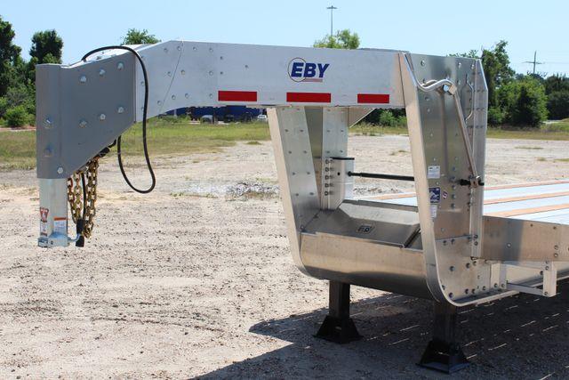 2018 Eby 35' GN EQUIPMENT Flatbed Equipment Trailer 25K GVWR 12Ks 6,800 lbs. CONROE, TX 6