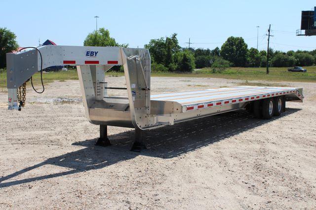2018 Eby 35' GN EQUIPMENT Flatbed Equipment Trailer 25K GVWR 12Ks 6,800 lbs. CONROE, TX 8