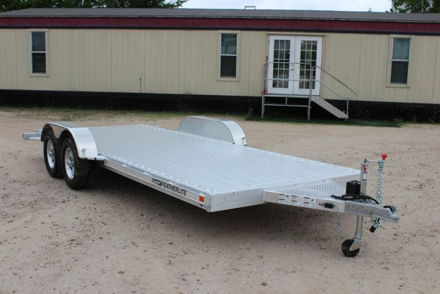 2018 Featherlite 3182 18' OPEN CAR TRAILER CONROE, TX 19