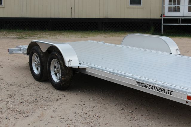 2018 Featherlite 3182 18' OPEN CAR TRAILER CONROE, TX 1