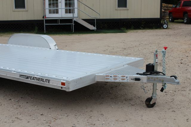 2018 Featherlite 3182 18' OPEN CAR TRAILER CONROE, TX 2