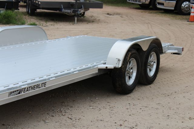 2018 Featherlite 3182 18' OPEN CAR TRAILER CONROE, TX 5