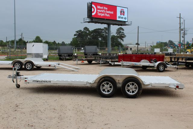2018 Featherlite 3182 18' OPEN CAR TRAILER CONROE, TX 7