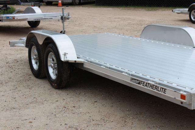 2018 Featherlite 3182 18' OPEN CAR TRAILER CONROE, TX 2