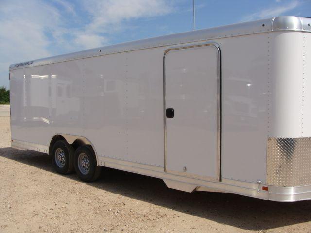2018 Featherlite 4926 - 24' Enclosed Car / Utility Trailer CONROE, TX 1