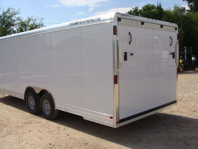 2018 Featherlite 4926 - 24' Enclosed Car / Utility Trailer CONROE, TX 12
