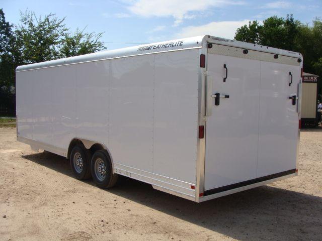 2018 Featherlite 4926 - 24' Enclosed Car / Utility Trailer CONROE, TX 8