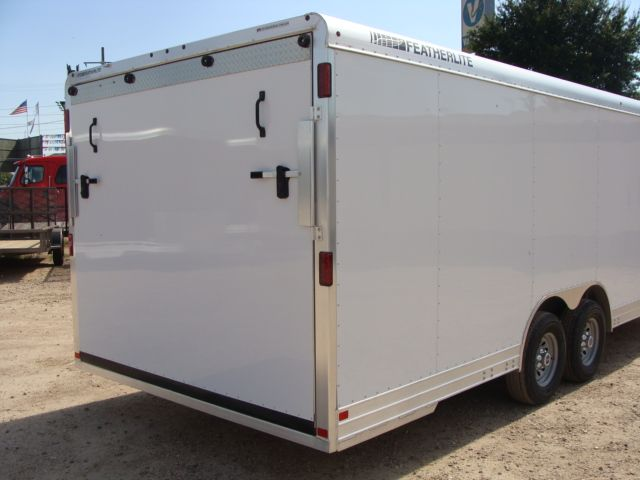 2018 Featherlite 4926 - 24' Enclosed Car / Utility Trailer CONROE, TX 20