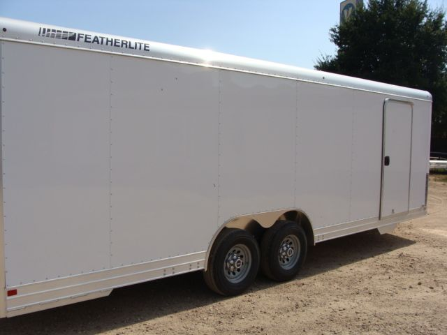 2018 Featherlite 4926 - 24' Enclosed Car / Utility Trailer CONROE, TX 22