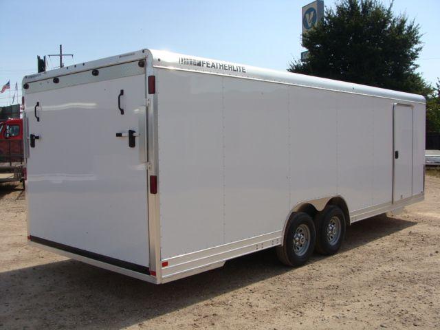 2018 Featherlite 4926 - 24' Enclosed Car / Utility Trailer CONROE, TX 23
