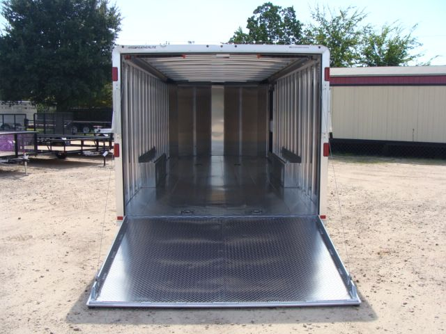 2018 Featherlite 4926 - 24' Enclosed Car / Utility Trailer CONROE, TX 14