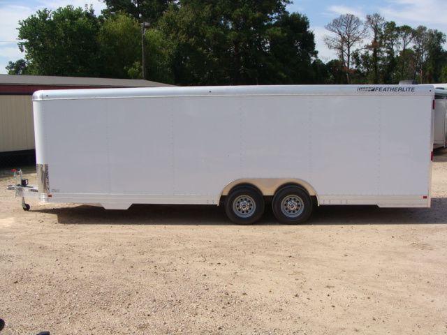 2018 Featherlite 4926 - 24' Enclosed Car / Utility Trailer CONROE, TX 7