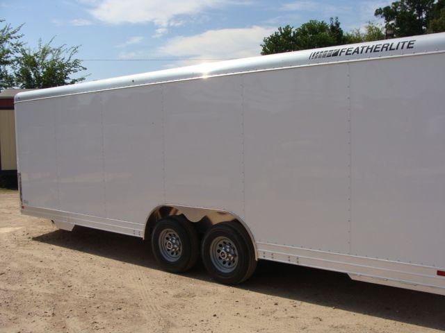 2018 Featherlite 4926 - 24' Enclosed Car / Utility Trailer CONROE, TX 9
