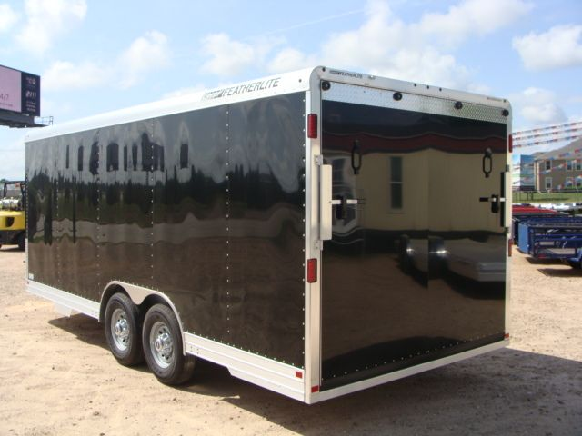2018 Featherlite 4926 - 20' Enclosed Car/ Utility Trailer CONROE, TX 11