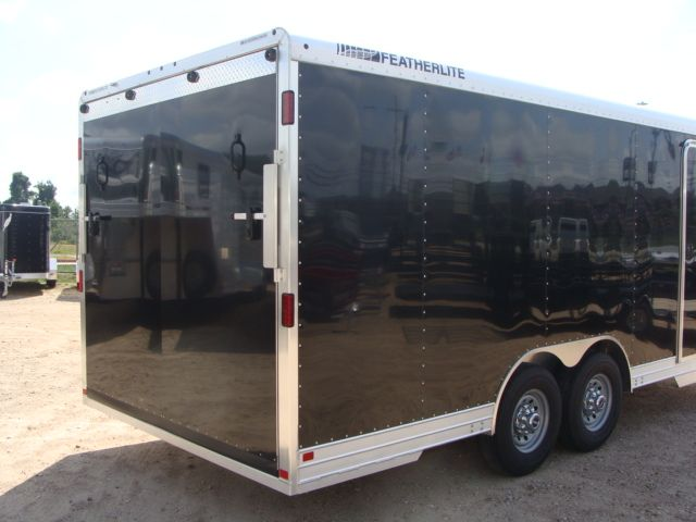 2018 Featherlite 4926 - 20' Enclosed Car/ Utility Trailer CONROE, TX 13