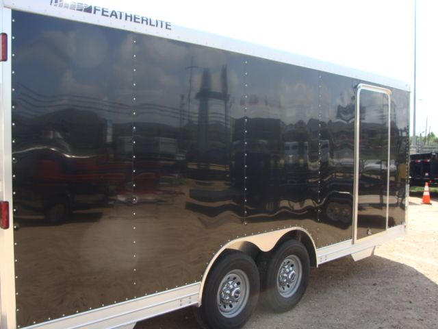 2018 Featherlite 4926 - 20' Enclosed Car/ Utility Trailer CONROE, TX 14