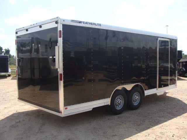 2018 Featherlite 4926 - 20' Enclosed Car/ Utility Trailer CONROE, TX 15