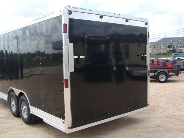 2018 Featherlite 4926 - 20' Enclosed Car/ Utility Trailer CONROE, TX 21