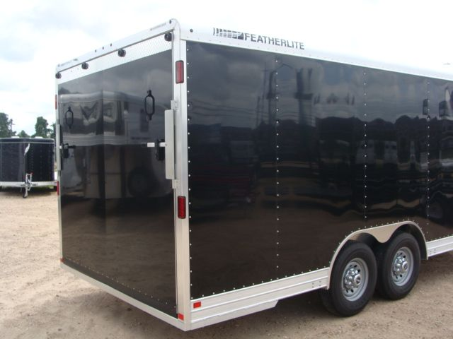 2018 Featherlite 4926 - 20' Enclosed Car/ Utility Trailer CONROE, TX 29