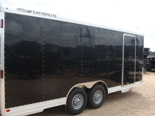 2018 Featherlite 4926 - 20' Enclosed Car/ Utility Trailer CONROE, TX 31