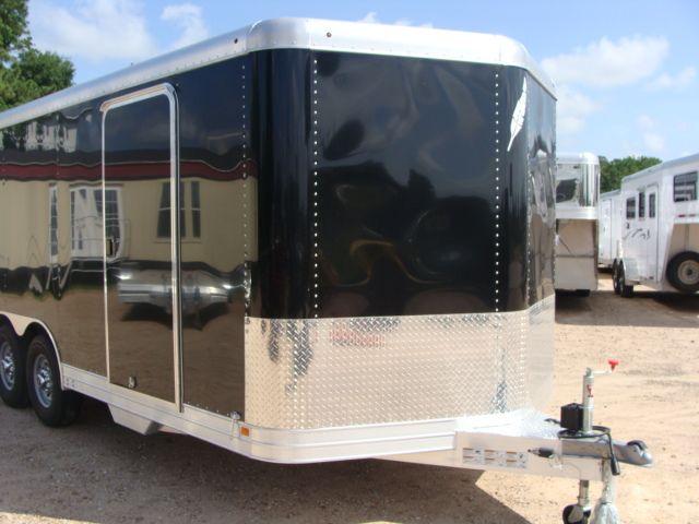 2018 Featherlite 4926 - 20' Enclosed Car/ Utility Trailer CONROE, TX 2
