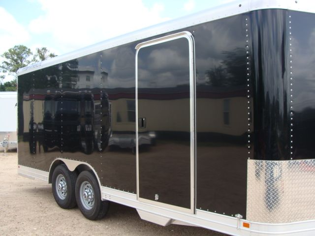 2018 Featherlite 4926 - 20' Enclosed Car/ Utility Trailer CONROE, TX 34