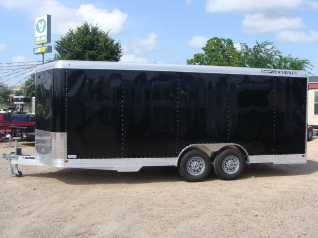 2018 Featherlite 4926 - 20' Enclosed Car/ Utility Trailer CONROE, TX 8