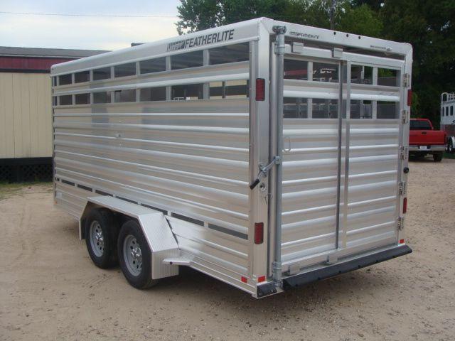 2018 Featherlite 8107 - 16 16' Livestock CONROE, TX 8