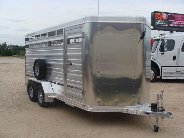 2018 Featherlite 8107 - 16 16' Livestock CONROE, TX 25