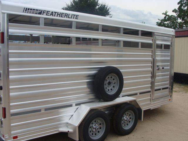 2018 Featherlite 8107 - 16 16' Livestock CONROE, TX 19