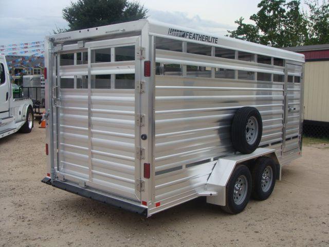 2018 Featherlite 8107 - 16 16' Livestock CONROE, TX 20