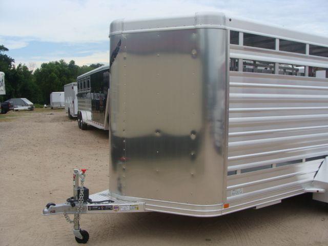 2018 Featherlite 8107 - 16 16' Livestock CONROE, TX 4