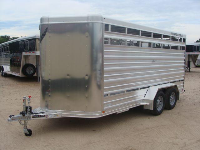 2018 Featherlite 8107 - 16 16' Livestock CONROE, TX 6