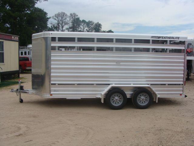 2018 Featherlite 8107 - 16 16' Livestock CONROE, TX 7