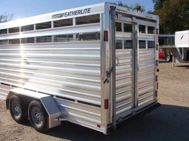 2018 Featherlite 8107 - 16 16' BP Livestock CONROE, TX 12
