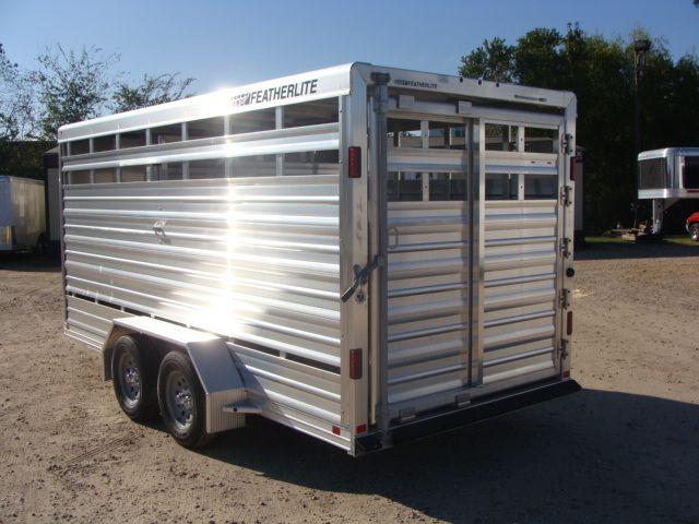 2018 Featherlite 8107 - 16 16' BP Livestock CONROE, TX 13