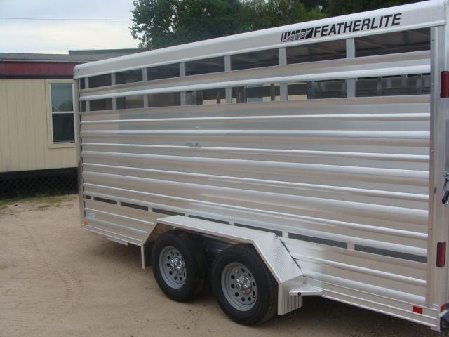 2018 Featherlite 8107 - 16 16' BP Livestock CONROE, TX 9